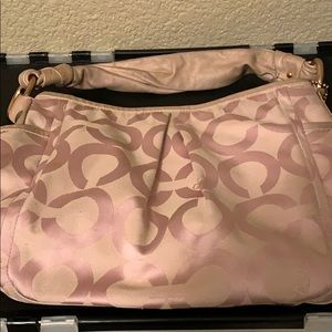 Coach Hobo Bag in Pink